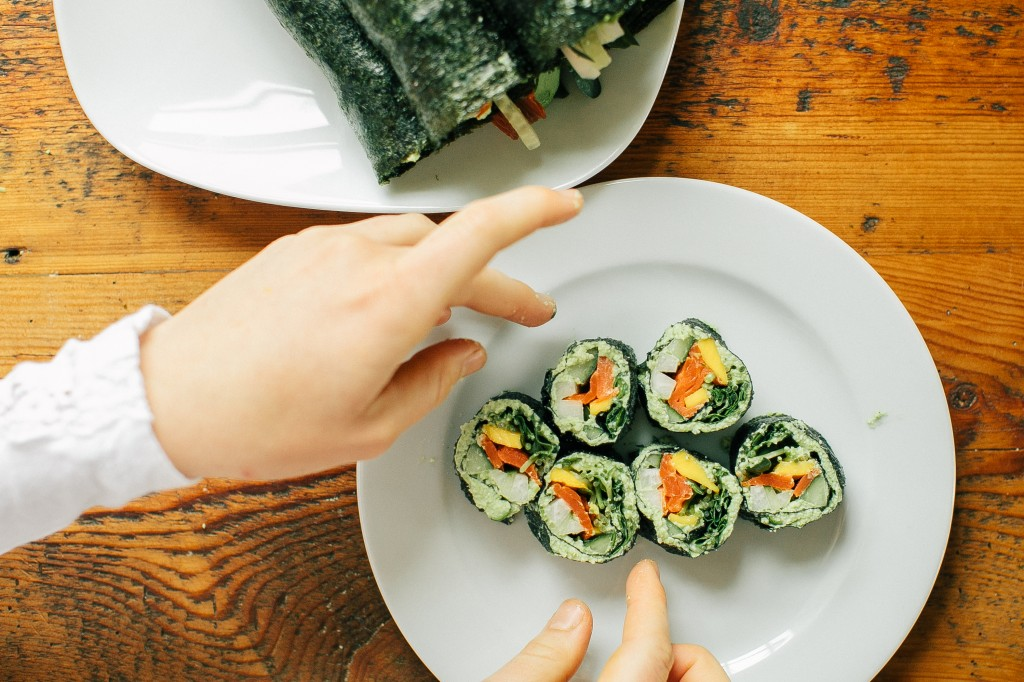 Happyolks Nori Rolls