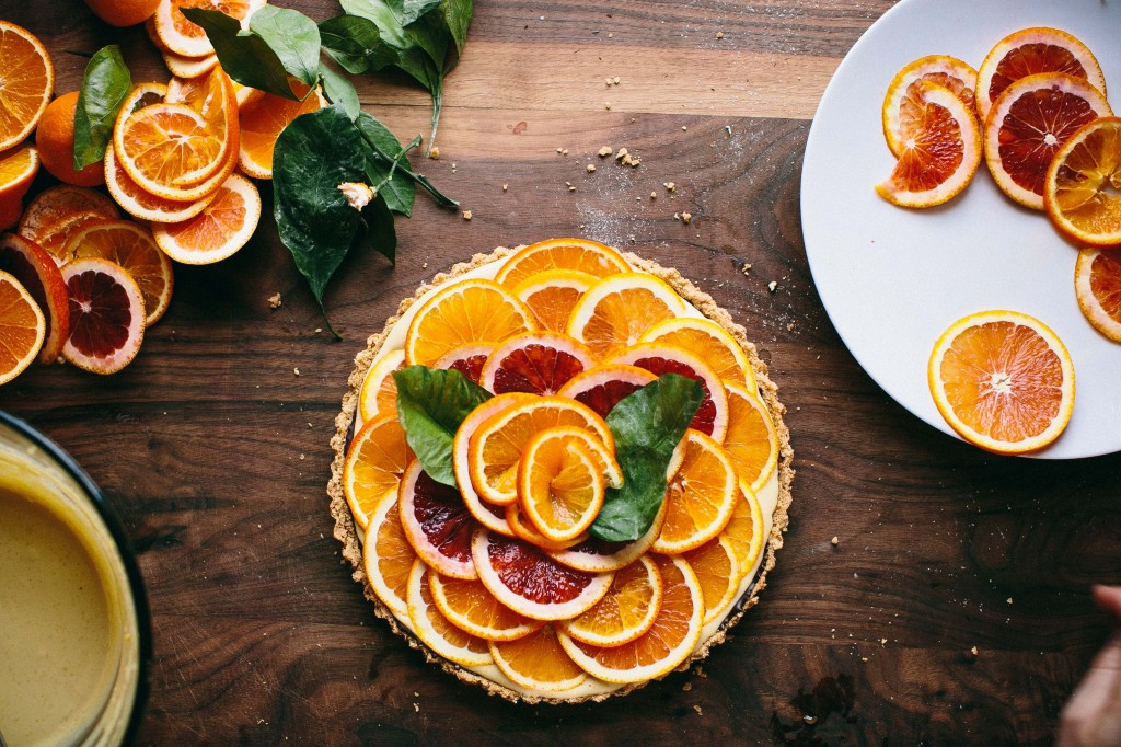 Happyolks | Orange Chocolate Tart