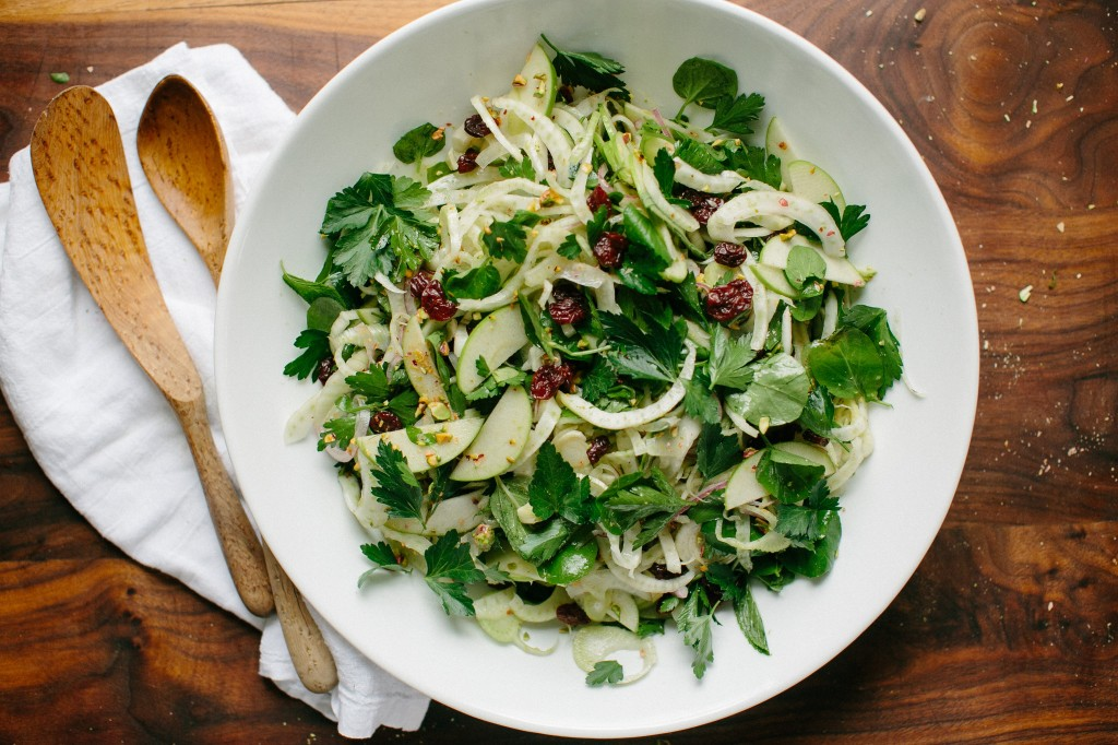 Happyolks | Shaved Fennel Salad