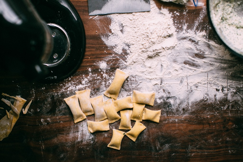 Happyolks | Lemon Herb Ricotta Agnolotti