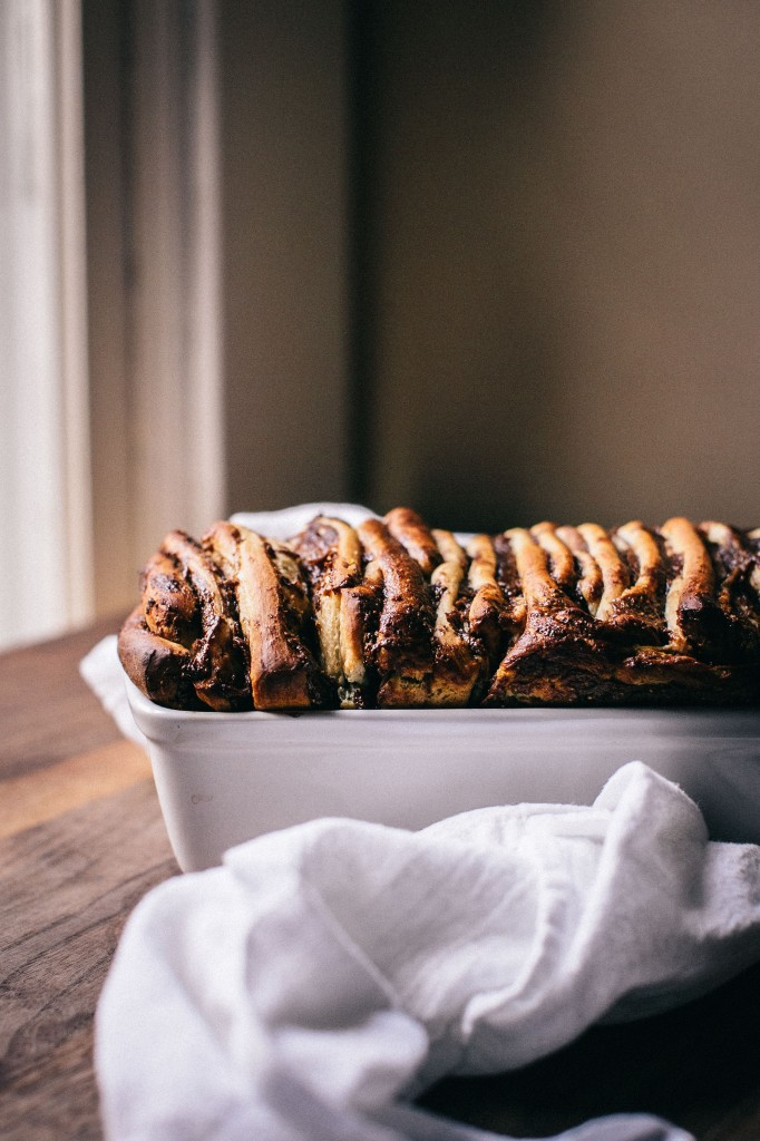 Fig & Anise Pull-Apart Bread | Happyolks.com